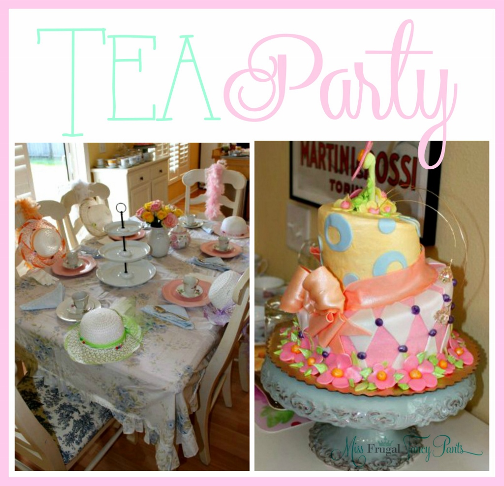 Tea Party Fit For A 5 Year Old