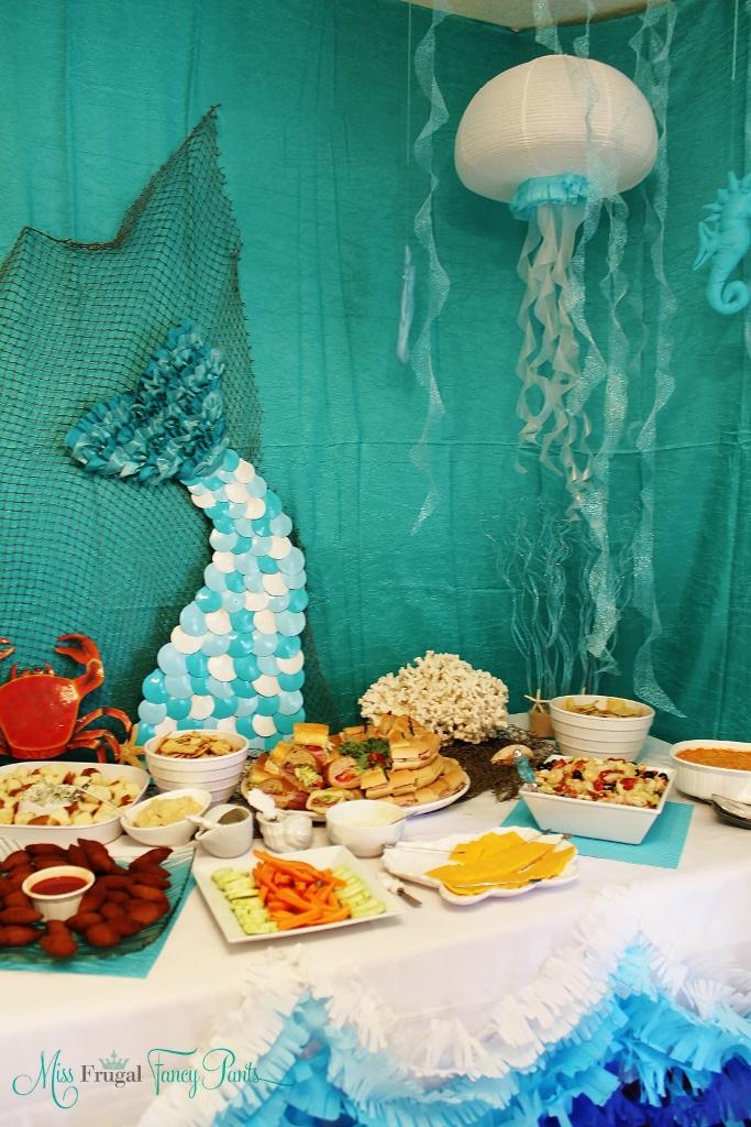 Mermaid Birthday Party Miss Frugal Fancy Pants