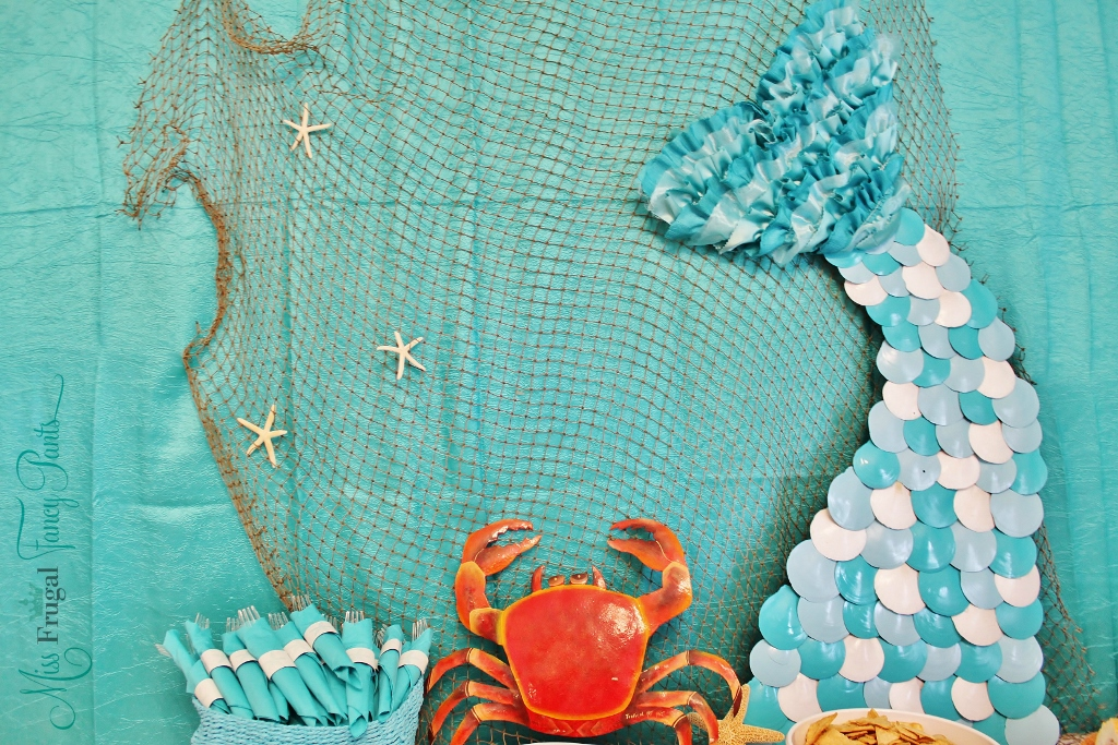 Mermaid Birthday Party - Miss Frugal Fancy Pants