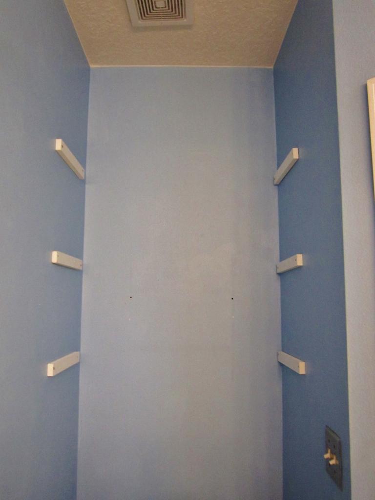 Diy Bathroom Storage Over The Toilet Miss Frugal Fancy